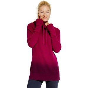 Calia Carrie Underwood Dip Dye hoodie sweater